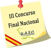 Resultados III Concurso Final Nacional U.A.S.O. - UASO.es