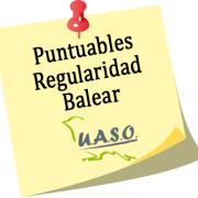 Resultados Puntuables Regularidad Balear UASO 2018 - UASO.es